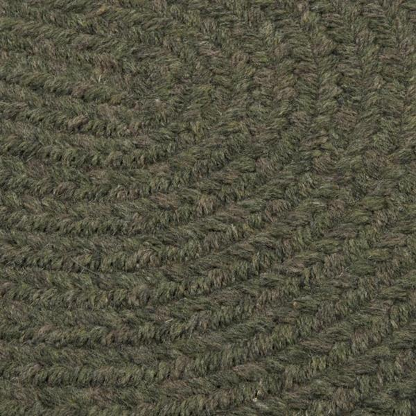 Colonial Mills Bristol 5-ft x 8-ft Olive Area Rug