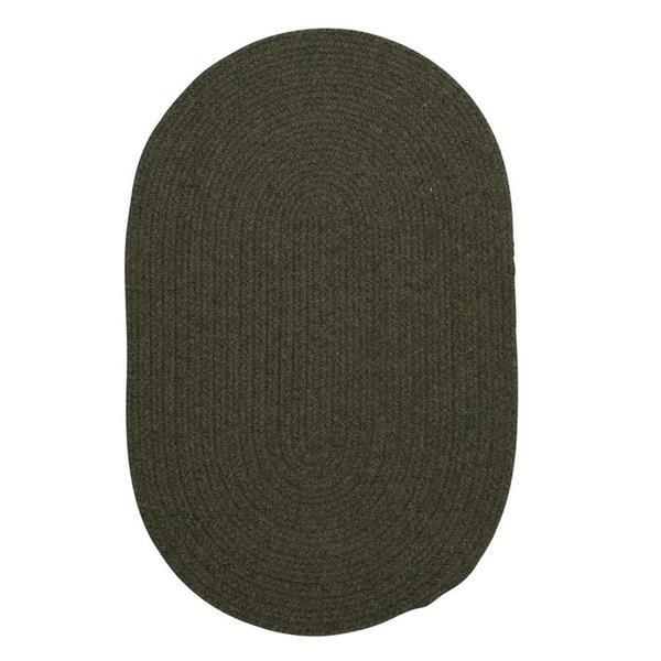 Colonial Mills Bristol 6-ft Round Olive Area Rug