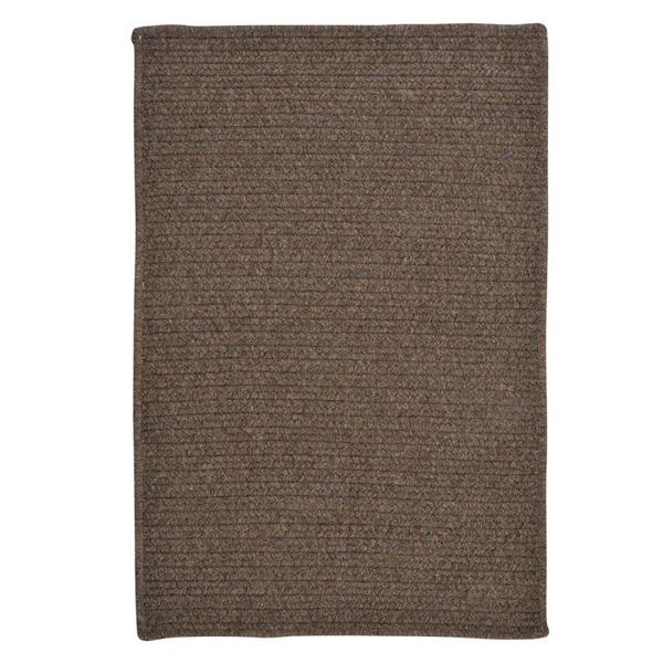 Colonial Mills Westminster 7-ft x 9-ft Rectangular Indoor Bark Area Rug