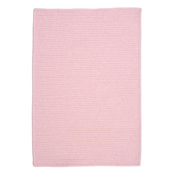 Colonial Mills Westminster 3-ft x 5-ft Rectangular Indoor Blush Pink Area Rug