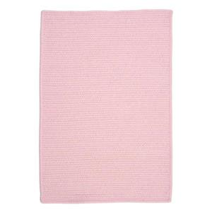 Colonial Mills Westminster 8-ft x 8-ft Square Indoor Blush Pink Area Rug