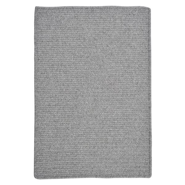 Colonial Mills Westminster 4-ft x 4-ft Square Indoor Light Gray Area Rug