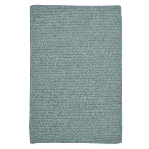 Colonial Mills Westminster 7-ft x 9-ft Teal Rectangular Indoor Handcrafted Area Rug