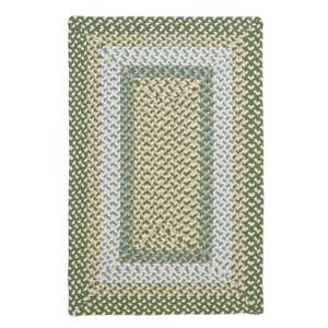 Colonial Mills Montego 4-ft x 6-ft Lily Pad Green Area Rug