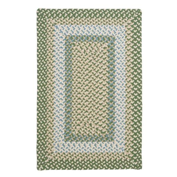 Colonial Mills Montego 5-ft x 8-ft Lily Pad Green Area Rug