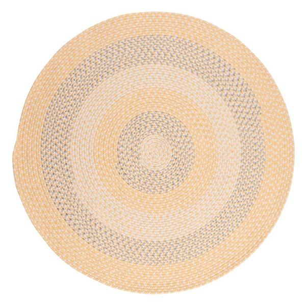 Colonial Mills Carousel 4-ft Sun Squeeze Round Area Rug