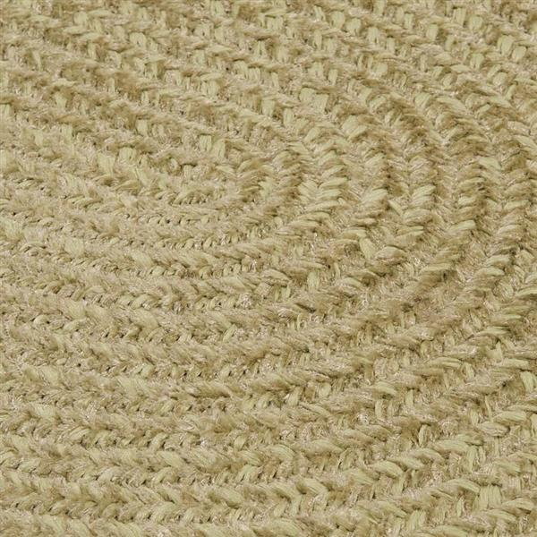 Colonial Mills Spring Meadow 2-ft x 6-ft Oval Indoor/Outdoor Sprout Green Area Rug Runner