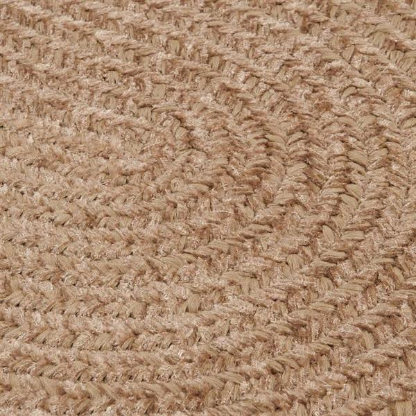 Colonial Mills Spring Meadow 2-ft x 12-ft Oval Indoor/Outdoor Sand Bar Area Rug Runner