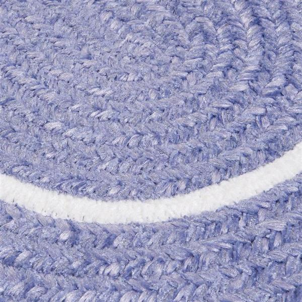Colonial Mills Silhouette 8-ft x 8-ft Round Runner Indoor Amethyst Area Rug