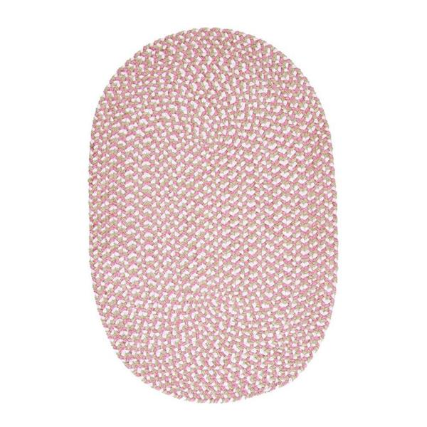 Colonial Mills Confetti 8-ft x 11-ft Pink Oval Area Rug