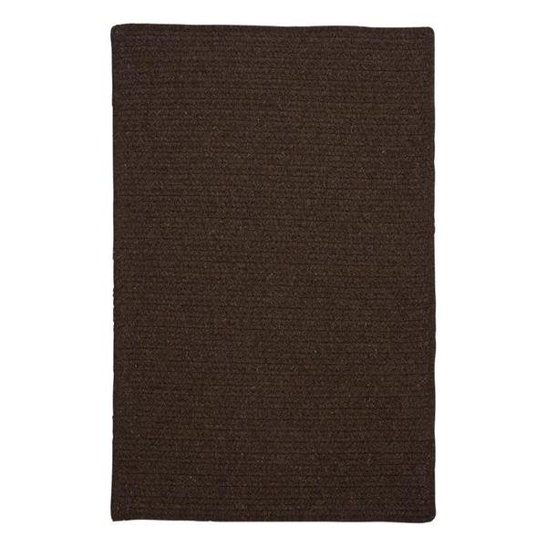 Colonial Mills Courtyard 2-ft x 6-ft Cocoa Rectangle Runner Rug
