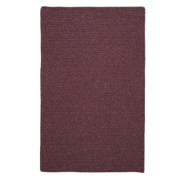 Colonial Mills Courtyard 2-ft x 10-ft Purple Rectangle Runner Rug