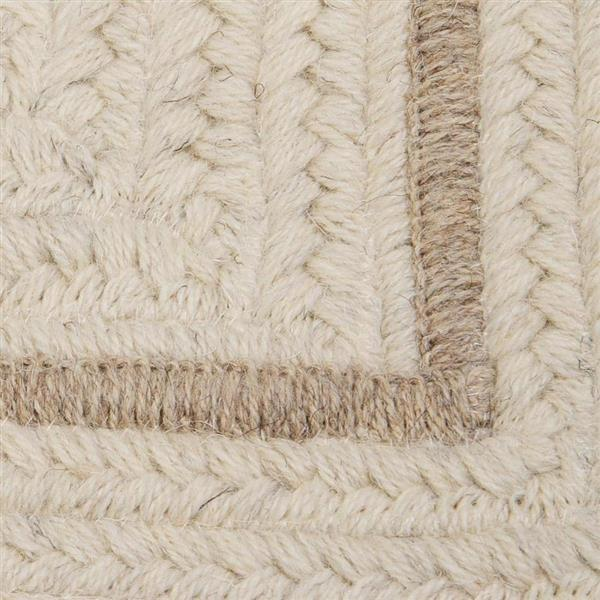 Colonial Mills Shear Natural 2-ft x 8-ft Rectangular Indoor Canvas Cream Area Rug Runner