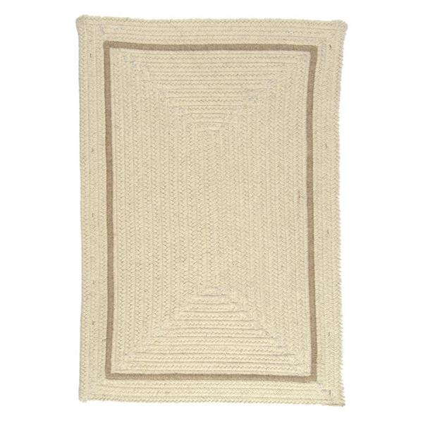 Colonial Mills Shear Natural 2-ft x 12-ft Rectangular Indoor Canvas Cream Area Rug Runner