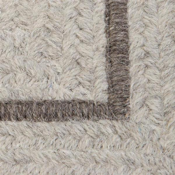 Colonial Mills Shear Natural 2-ft x 12-ft Rectangular Indoor Cobblestone Cream Area Rug Runner