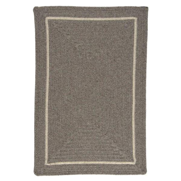 Colonial Mills Shear Natural 2-ft x 8-ft Rectangular Indoor Rockport Gray Area Rug Runner