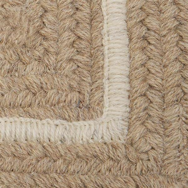 Colonial Mills Shear Natural 2-ft x 10-ft Rectangular Indoor Muslin Cream Area Rug Runner