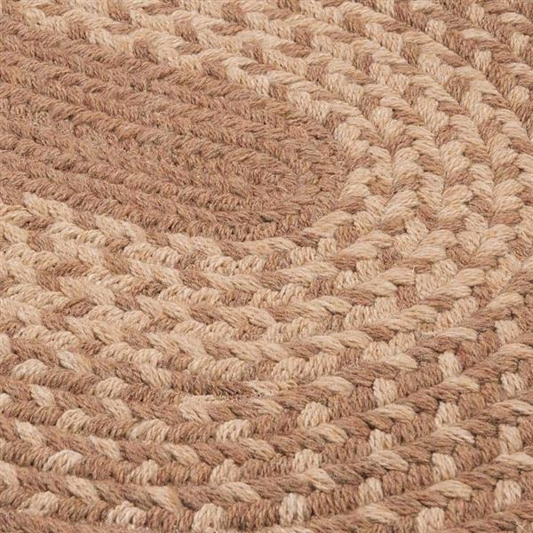 Colonial Mills Jackson 2-ft x 12-ft Taupe Runner
