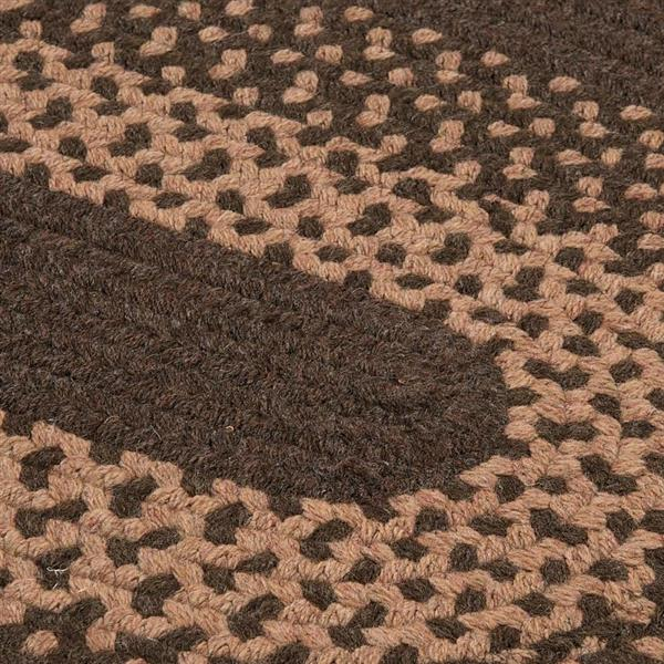 Colonial Mills Madison 2-ft x 8 -ft Roasted Brown Runner