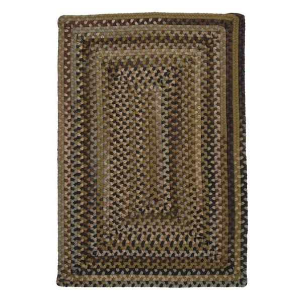 Colonial Mills Ridgevale 2-ft x 12-ft Grecian Green Handcrafted Area Rug Runner