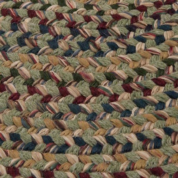 Colonial Mills Twilight 2-ft x 8-ft Palm Handcrafted Runner Rug