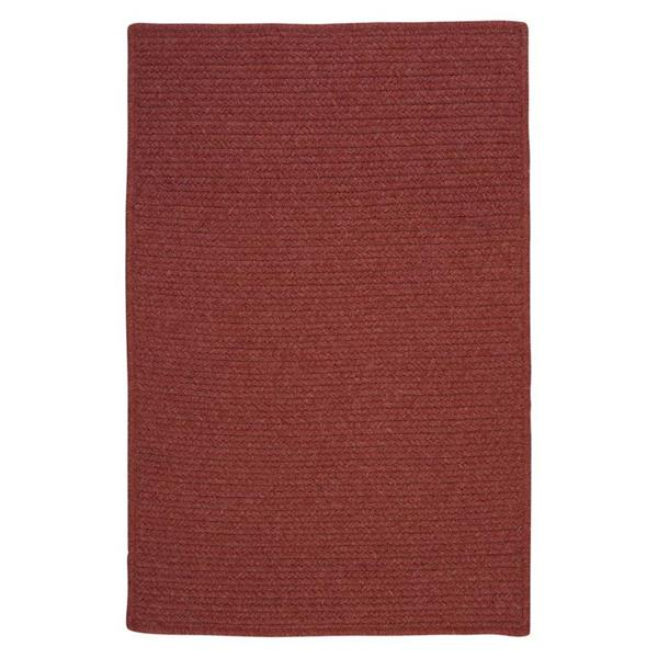 Colonial Mills Westminster 2-ft x 8-ft Rosewood Runner