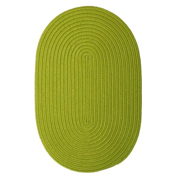 Colonial Mills Boca Raton 7-ft x 9-ft Bright Green Area Rug
