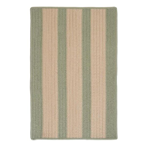Colonial Mills Boat House 4-ft x 6-ft Olive Area Rug
