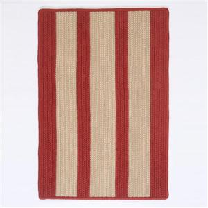 Colonial Mills Boat House 6-ft x 6-ft Rust Red Area Rug