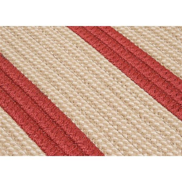Colonial Mills Boat House 7-ft x 9-ft Rust Red Area Rug