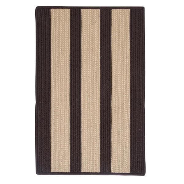 Colonial Mills Boat House 5-ft x 8-ft Brown Area Rug