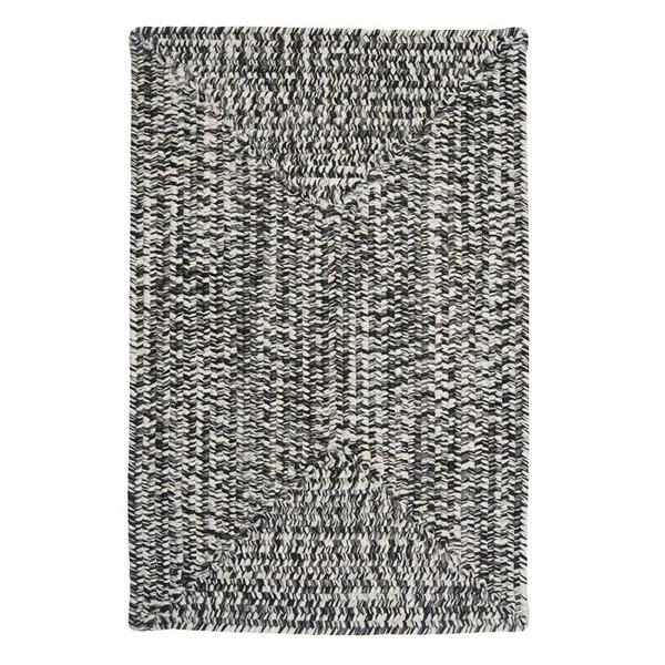 Colonial Mills Catalina 8-ft Blacktop Square Area Rug
