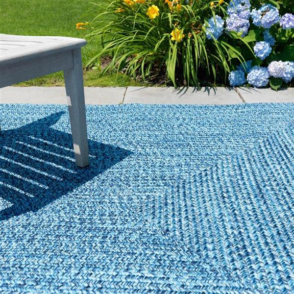 Colonial Mills Catalina 3-ft x 5-ft Blue Wave Area Rug