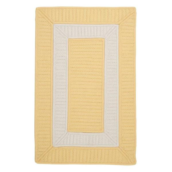 Colonial Mills Rope Walk 8-ft x 11-ft Yellow Area Rug