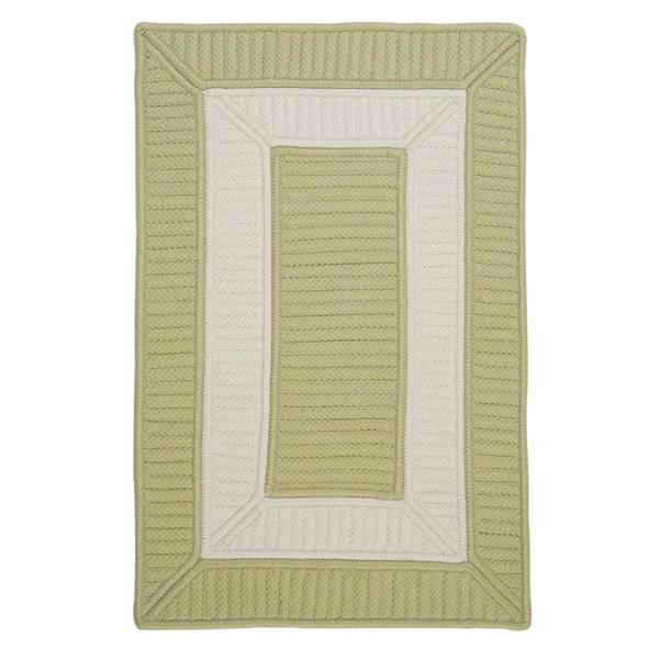 Colonial Mills Rope Walk 8-ft x 11-ft Celery Area Rug