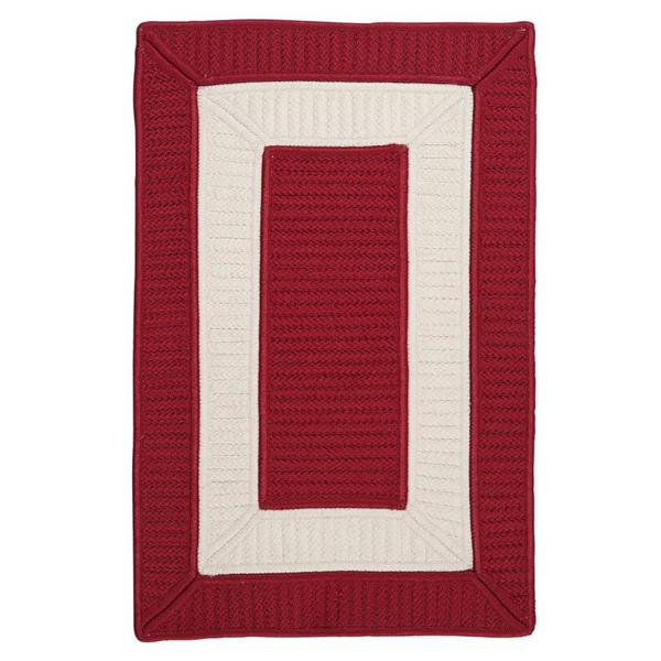 Colonial Mills Rope Walk 7-ft x 9-ft Red Area Rug