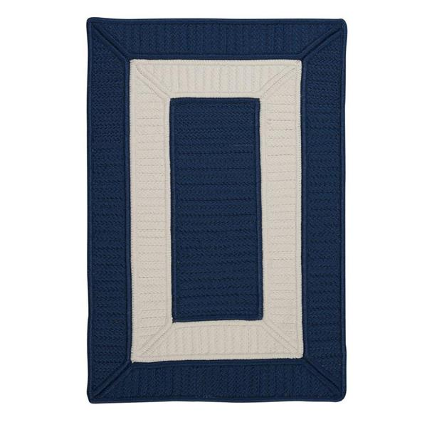 Colonial Mills Rope Walk 7-ft x 9-ft Navy Area Rug