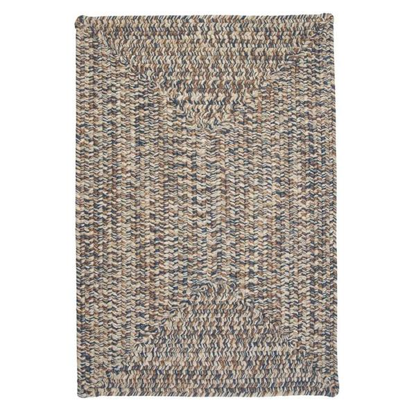 Colonial Mills Corsica 6-ft Lake-Blue Square Area Rug
