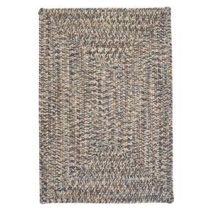 Colonial Mills Corsica 8-ft x 11-ft Lake-Blue Area Rug