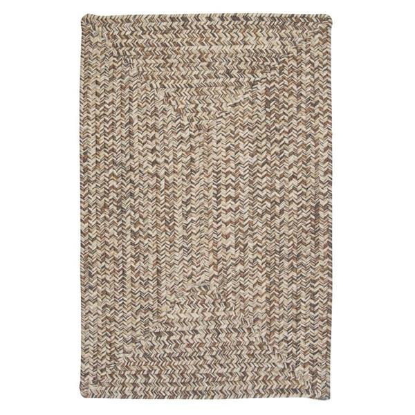 Colonial Mills Corsica 4-ft x 6-ft Storm Gray Area Rug