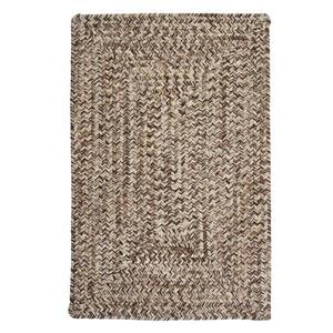 Colonial Mills Corsica 4-ft x 4-ft Weathered Brown Area Rug