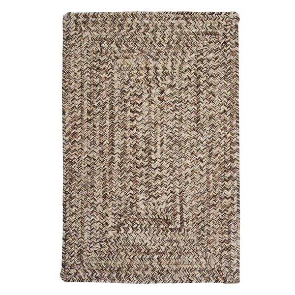 Colonial Mills Corsica 8-ft x 8-ft Weathered Brown Area Rug