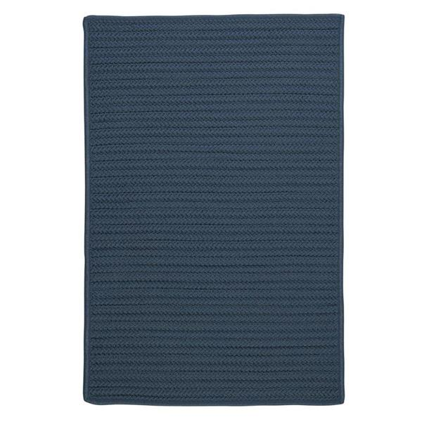 Colonial Mills Simply Home Solid 4-ft x 4-ft Lake Blue Area Rug