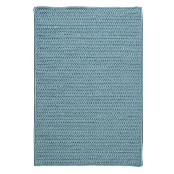Colonial Mills Simply Home Solid 2-ft x 8-ft Federal Blue Area Rug
