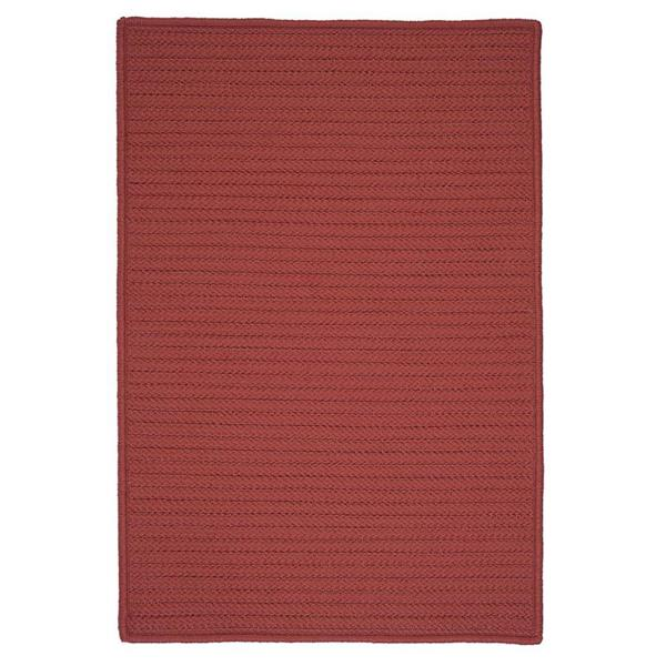 Colonial Mills Simply Home Solid 4-ft x 6-ft Terracotta Area Rug