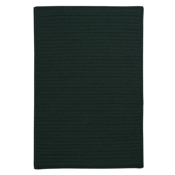Colonial Mills Simply Home Solid 2-ft x 8-ft Dark Green Area Rug