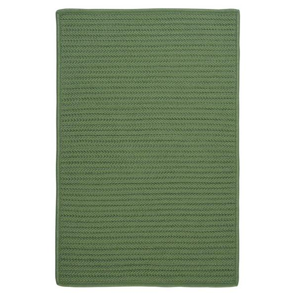 Colonial Mills Simply Home Solid 3-ft x 5-ft Moss Green Area Rug
