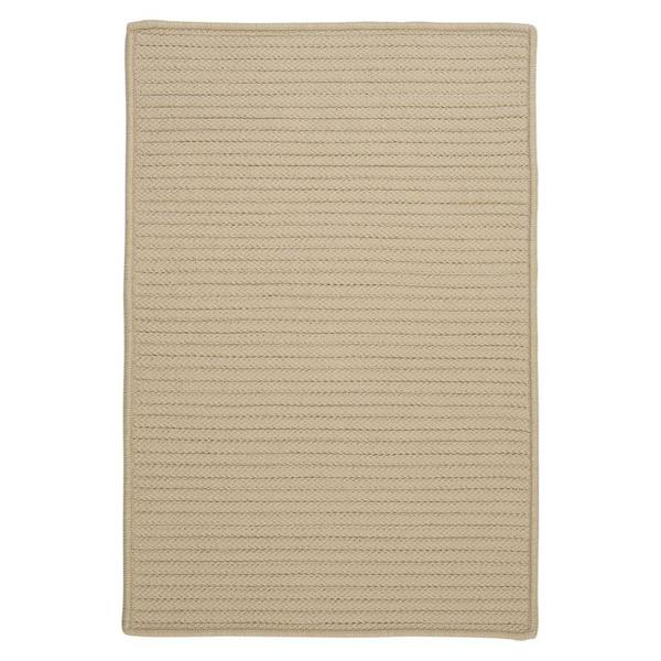 Colonial Mills Simply Home Solid 4-ft x 4-ft Linen Area Rug