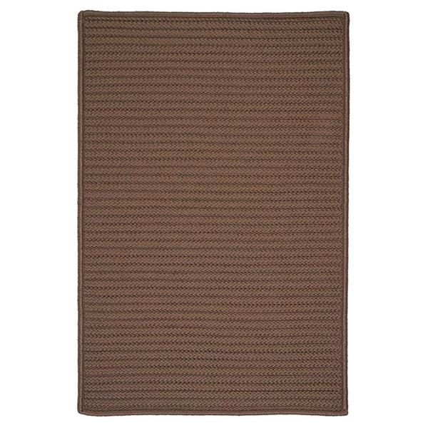 Colonial Mills Simply Home Solid 4-ft Square Cashew Area Rug