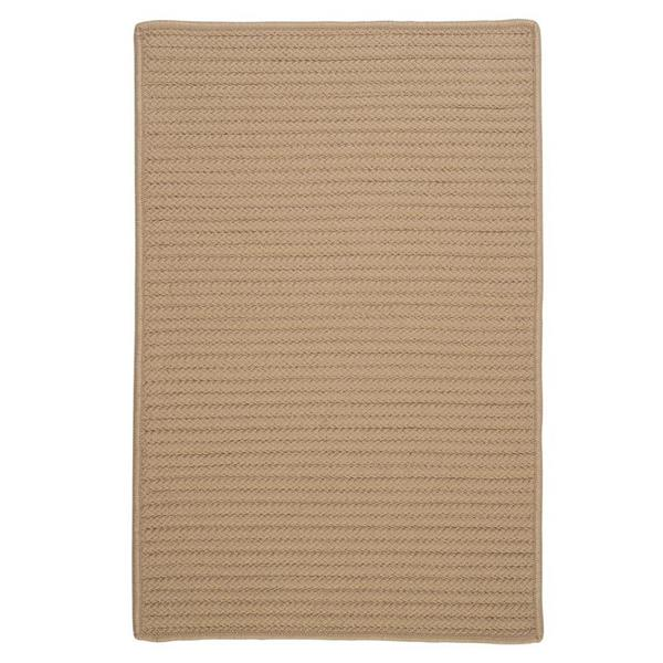 Colonial Mills Simply Home Solid 2-ft x 12-ft Cuban Sand Area Rug